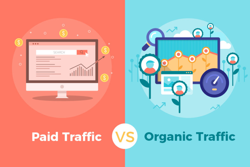 icon marketing piad vs organic