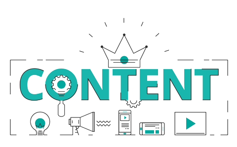 icon marketing content is king